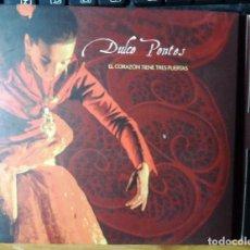 CDs de Música: DULCE PONTES. EL CORAZÓN TIENE TRES PUERTAS. TRES DISCOS: 2 CDS + 1 DVD. Lote 214558138