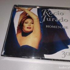 CDs de Música: ROCIO JURADO HOMENAJE 3 CDS SIN DESPRECINTAR. Lote 214567062