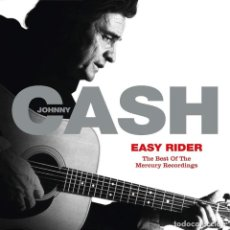 CDs de Música: JOHNNY CASH EASY RIDER: THE BEST OF THE MERCURY RECORDINGS. Lote 214569737