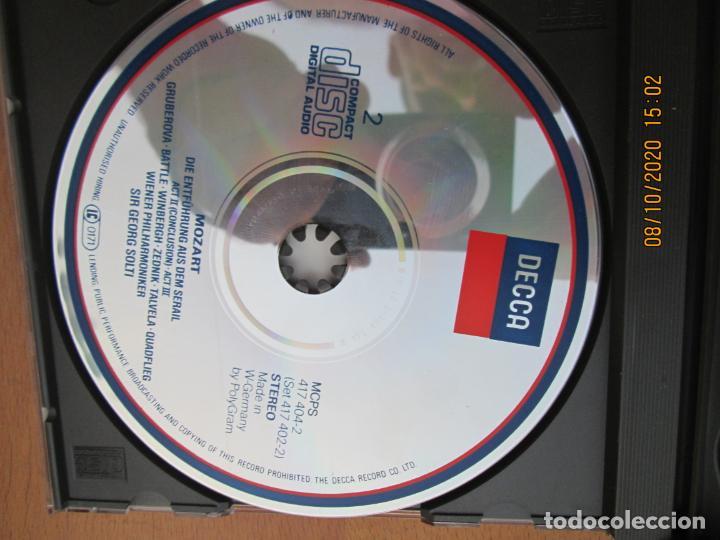 CDs de Música: MOZART DIE ENTFÜHRUNG AUS DEM SERAIL - SIR GEORG SOLTI - DECCA -2-CD,S Y LIBRETO - Foto 4 - 214571601