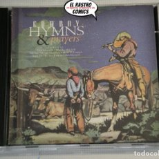 CDs de Música: COWBOY HYMNS & PRAYERS, CD WARNER, 1996, WESTERN, OESTE. Lote 214667200