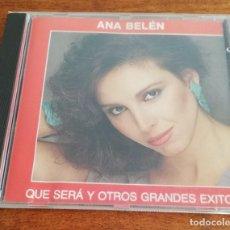 CDs de Música: ANA BELÉN - QUE SERÁ Y OTROS GRANDES EXITOS - CD 1992. Lote 214682791