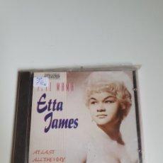 CDs de Música: ETTA JAMES ?– TELL MAMA, PLANETA AGOSTINI ?– RCD084-2, 1992, TEMAS EN DESCRIPCIÓN.. Lote 214697056