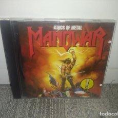 CDs de Musique: CD MANOWAR KINGS OF METAL HEAVY METAL ROCK. Lote 214700542