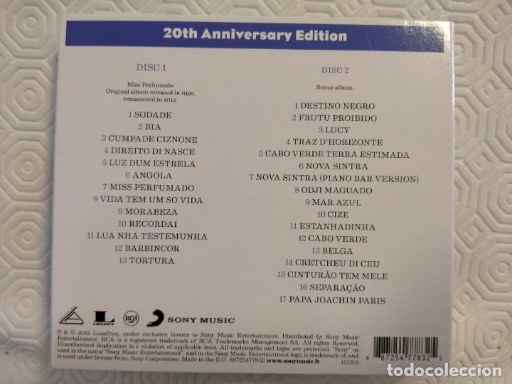 CDs de Música: CESARIA EVORA. MISS PERFUMADO. 20TH ANNIVERSARY EDITION. DOBLE COMPACTO CON 30 MARAVILLOSOS TEMAS. - Foto 3 - 214701688