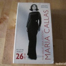 CDs de Música: CD MARIA CALLAS THE GREAT DIVA EDITION 26 CD´S + LIBRO OPERA CLÁSICA. Lote 214701818