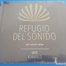 CDs de Música: CD / REFUGIO DEL SONIDO POR JAVIER LIMON - MAR ADRIATICO, NUEVO Y PRECINTADO. Lote 214747123