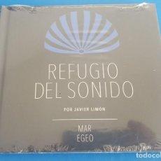 CDs de Música: CD / REFUGIO DEL SONIDO POR JAVIER LIMON - MAR EGEO, NUEVO Y PRECINTADO. Lote 214747228