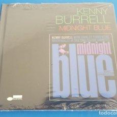 CDs de Música: KENNY BURRELL - MIDNIGHT BLUE, NUEVO Y PRECINTADO. Lote 214748001