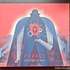 CDs de Música: PARADE: DEMASIADO HUMANO. Lote 214756422