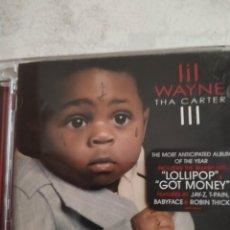 CDs de Música: LIL WAYNE - THA CARTER III CD RAP HIP HOP. Lote 214763092