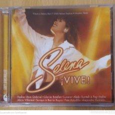CDs de Música: SELENA (¡VIVE!) CD 2005 (ANA GABRIEL, THALIA, GLORIA ESTEFAN, ALEJANDRA GUZMAN, FEY, LUCERO...). Lote 214767145