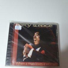 CDs de Música: PERCY SLEDGE – WHEN A MAN LOVES A WOMAN, PILZ – 448229-2, 1993, UK. TEMAS EN DESCRIPCIÓN.. Lote 214767626