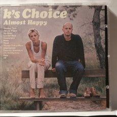 CDs de Música: CD/ K'S CHOISE/ ALMOST HAPPY/ (REF.M.1). Lote 214770371