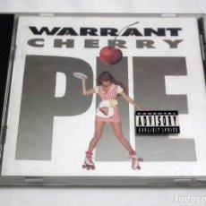 CDs de Música: CD WARRANT - CHERRY PIE. Lote 214780931