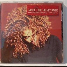 CDs de Música: CD/ JANET THE VELVET ROPE/ (REF.M.2). Lote 214796652