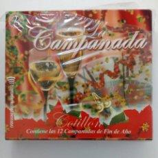 CDs de Música: LA CAMPANADA (DOBLE CD) - COTILLÓN (INCLUYE LAS 12 CAMPANADAS) - NUEVO CON PRECINTO. Lote 214803717