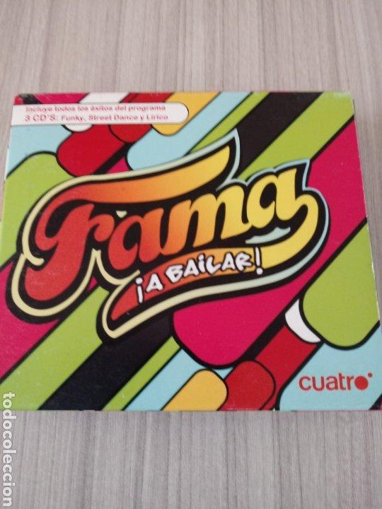 3 CD,S FAMA A BAILAR PROGRAMA TV. (Música - CD's Disco y Dance)