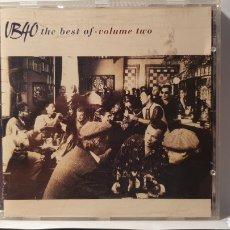 CDs de Música: CD/ UB40 / THE BEST/ VOLUME TWO/ (REF.M.3). Lote 214820170