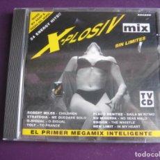 CDs de Musique: X-PLOSIV MIX (SIN LIMITES) CD ARCADE 1996 - 24 TEMAS - ELECTRONICA MAKINA TECHNO HOUSE 90'S. Lote 214824952