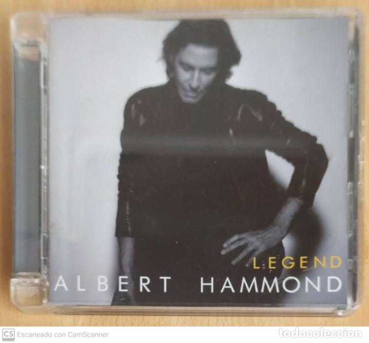 CDs de Música: ALBERT HAMMOND (LEGEND) 2 CDs 2010 - Foto 1 - 214827621