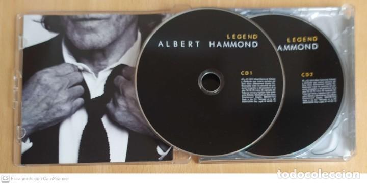 CDs de Música: ALBERT HAMMOND (LEGEND) 2 CDs 2010 - Foto 3 - 214827621