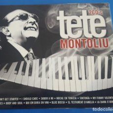 CDs de Música: CD / TETE MONTOLIU, DOBLE CD, OK RECORDS (2 DISCOS), COMO NUEVO. Lote 214836496