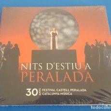 CDs de Música: CD / VARIOS ARTISTAS - NITS D'ESTIU A PERELADA, 30 ANYS FESTIVAL CASTELL PERELADA, DIGIPACK. Lote 214846756