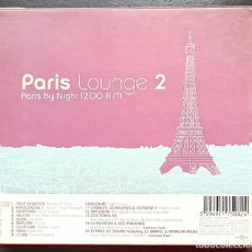 CDs de Música: PARIS LOUNGE 2: PARIS BY NIGHT 12:00 A.M. Lote 214858337