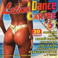 CDs de Música: LATINO & DANCE DEL CARIBE. RECOPILATORIO. CD. Lote 214859682