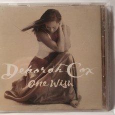 CDs de Música: CD/ DEBORAH COX/ ONE WISH/ (REF.M.4). Lote 214860101