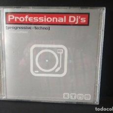 CDs de Música: PROFESSIONAL DJ,S PROGRESSIVE + TECHNO DOBLE CD PEPETO. Lote 214863835