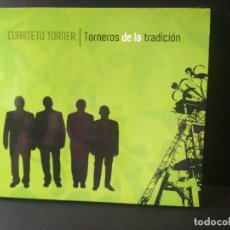 CDs de Música: CUARTETO TORNER TORNEROS DE LA TRADICION CD ASTURIAS PEPETO. Lote 214864050