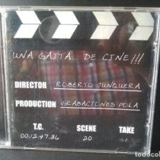 CDs de Música: UNA GAITA DE CINE CD ALBUM ROBERTO JUNQUERA GRABACIONES POLA ASTURIAS PEPETO. Lote 214864090