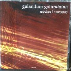 CDs de Música: GALANDUM GALUNDAINA MODAS I ANZONAS CD ASTURIAS PEPETO. Lote 214864147