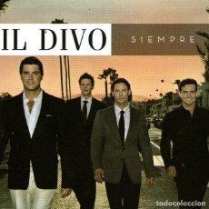 CDs de Música: IL DIVO - SIEMPRE - CD ALBUM - 11 TRACKS - SONY / BMG MUSIC - AÑO 2006. Lote 214885955