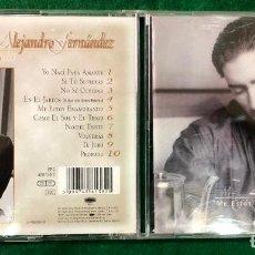 CDs de Música: ALEJANDRO FERNÁNDEZ - ME ESTOY ENAMORANDO / CD ALBUM DE 1997 RF-7234 , BUEN ESTADO. Lote 214887956