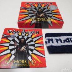 CDs de Música: IRON MAIDEN. NO MORE LIES. CAJA CON CD SINGLE, LIBRETO Y MUÑEQUERA. Lote 214911008