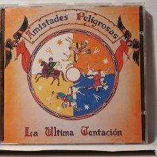 CDs de Música: CD/ AMISTADES PELIGROSAS/ LA ULTIMA TENTACIÓN (REF.M.5). Lote 214922711