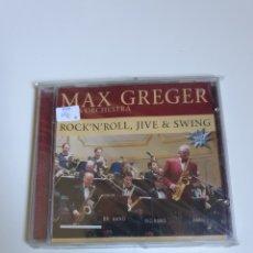 CDs de Música: MAX GREGER & HIS ORCHESTRA, ROCK 'N' ROLL, JIVE & SWING, VER FOTOGRAFÍAS ADICIONALES.. Lote 214923390