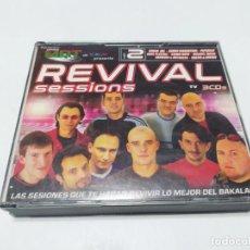 CDs de Música: REVIVAL SESSIONS VOL 2 3 CD´S COMPLETO BUEN ESTADO. Lote 214926091
