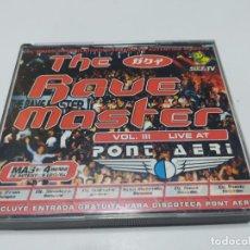 CDs de Música: PONT AERI THE RAVE MASTER 4 CD´S BUEN ESTADO. Lote 214927208
