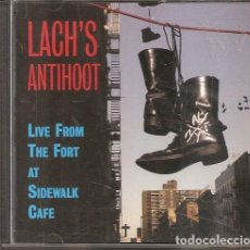CD de Música: LACH'S ANTIHOOT - LIVE FROM THE FORT AT SIDEWALK CAFE (CD, SHANACHIE RECORDS1996). Lote 214929712