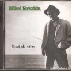 CDs de Musique: MIKEL ERRAZKIN - BOSTAK ARTE (CD, MIRUSTA RECORDS 1994). Lote 214932220