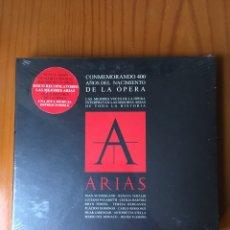 CDs de Música: ARIAS-CONMEMORANDO 400 AÑOS DEL NACIMIENTO DE LA OPERA-2007-2 CD-PRECINTADO-RARO. Lote 214939702