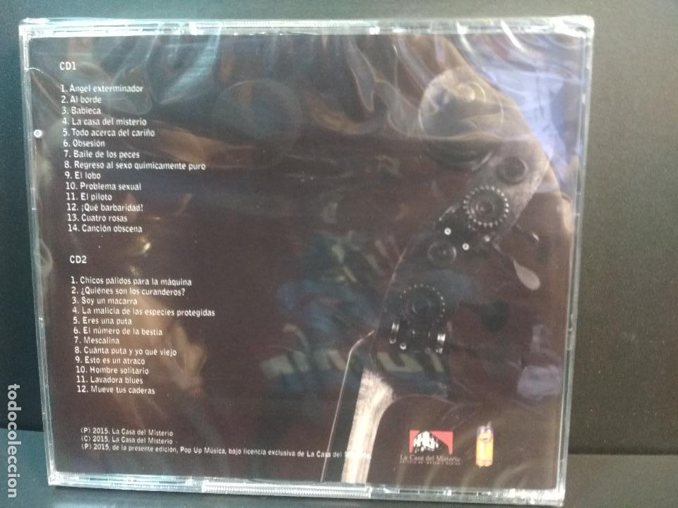 CDs de Música: JORGE ILEGAL Y LOS MAGNIFICOS NOS VEMOS EN EL PSIQUIATRICO DOBLE CD PRECINTADO Descatalogado PEPETO - Foto 2 - 236900410