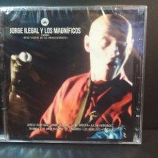 CDs de Música: JORGE ILEGAL Y LOS MAGNIFICOS NOS VEMOS EN EL PSIQUIATRICO DOBLE CD PRECINTADO DESCATALOGADO PEPETO. Lote 236900410