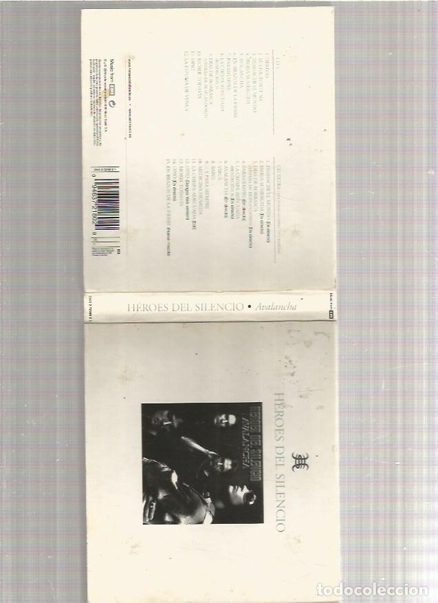 HEROES DEL SILENCIO AVALANCHA (Música - CD's Rock)
