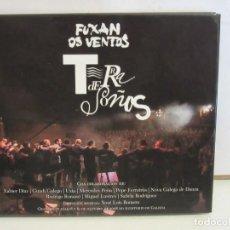 CDs de Música: FUXAN OS VENTOS - TERRA DE SOÑOS - LIBRO - CD + DVD - 2009 - VG+/NM+. Lote 214988977