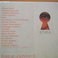 CDs de Música: KEPA JUNKERA ETXEA 2XCDS ESTUCHE CD. Lote 214995395